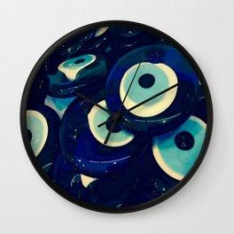Boncuk The Evil Eye Wall Clock