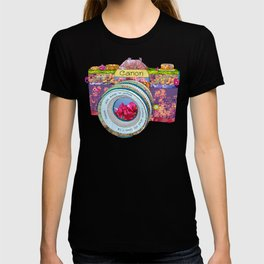 FLORAL CAN0N T-shirt
