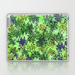 Green Abstract Laptop & iPad Skin