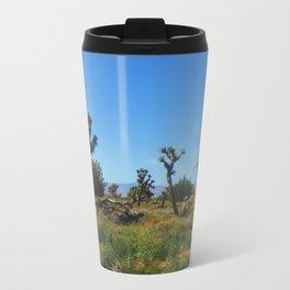 Joshua Trees Metal Travel Mug