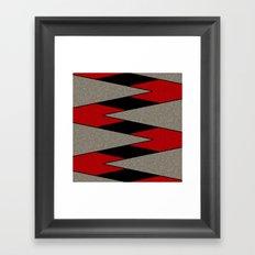 Triangulation 3 Framed Art Print