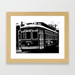 Classic Street Car Framed Art Print