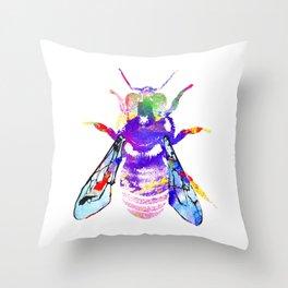Honey Bee Throw Pillow