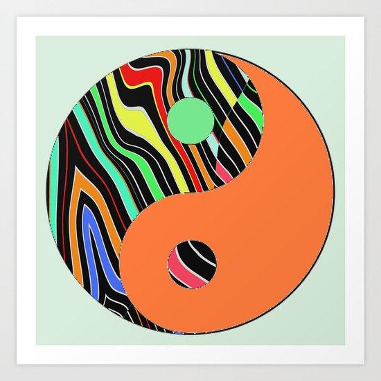 African Y&Y Art Print