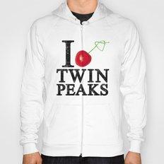 I Love Twin Peaks (Cherry Stem) Hoody