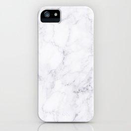 Luxury White Marble iPhone Case