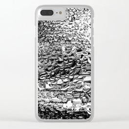 Tumbled Into Love Clear iPhone Case