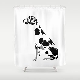 Hamlet the Great Dane Shower Curtain