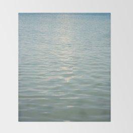 Aqua Seas Throw Blanket