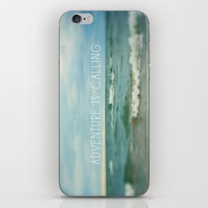 Adventure is Calling - Waves iPhone & iPod Skin