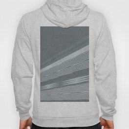 Abstract asymmetrical pattern in shades of gray . Hoody