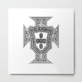 PORTUGAL FUTEBOL (PORTUGAL FOOTBALL) Metal Print