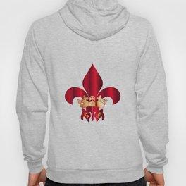 Fleur de Lis Symbol Hoody