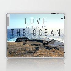 LOVE DEEP  Laptop & iPad Skin