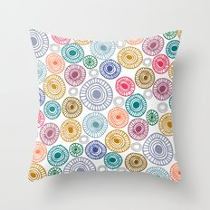 c13 pattern series 009 Throw Pillow