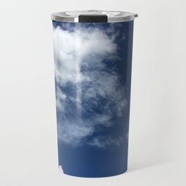 Beautiful Blue Travel Mug