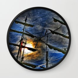 And I'm waiting for the wind Wall Clock