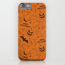 Happy Halloween Pattern Classic iPhone Case