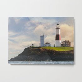 Montauk Lighthouse Metal Print