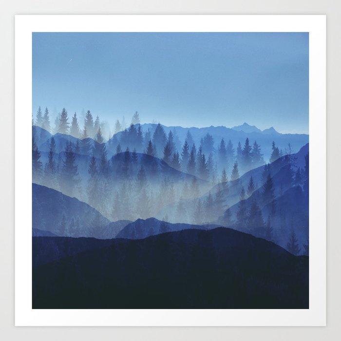 Woods Glory PQ Art Print
