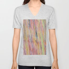 Color gradient and texture 42 Unisex V-Neck
