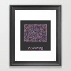 Wyoming Framed Art Print