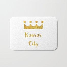 Stay Golden | Kansas City Bath Mat