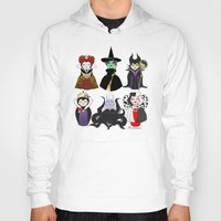 evil Hoodies featuring Evil kokeshis by Pendientera