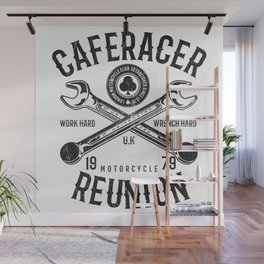 Cafe Racer Reunion Vintage Tools Poster Wall Mural