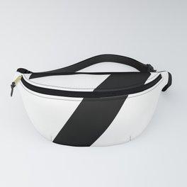 Number 7 (Black & White) Fanny Pack