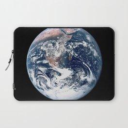 Apollo 17 - Iconic Blue Marble Photograph Laptop Sleeve
