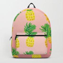 Watercolor Pineapple Backpack