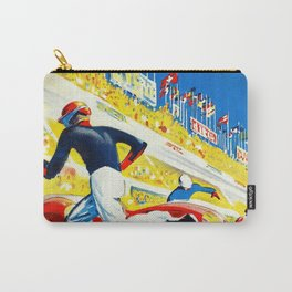 Vintage 1959 le Mans Poster Carry-All Pouch