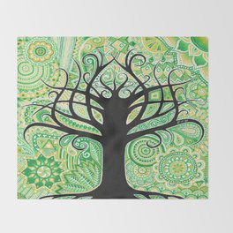 Tree of life ! Throw Blanket
