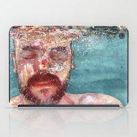 watercolour iPad Cases featuring Watercolour by Jose Manuel Hortelano-Pi
