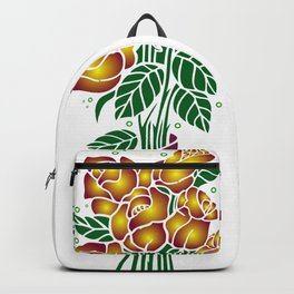 Bouquet of golden roses Backpack