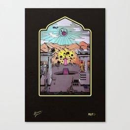 Christopher Waver LP (PLT012) Canvas Print