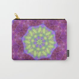 Dreamy Neon Kaleidoscope Carry-All Pouch