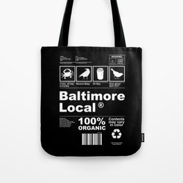 Baltimore Local Tote Bag