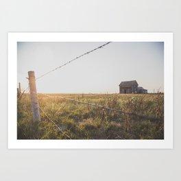 Abandoned South Dakota 7838 Art Print