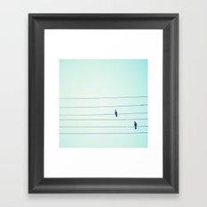 unrequited love Framed Art Print