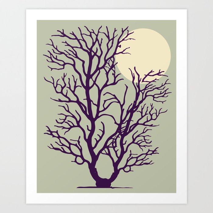 In My Tree Art Print