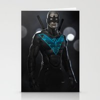 nightwing Stationery Cards featuring Nightwing 02 by Yvan Quinet