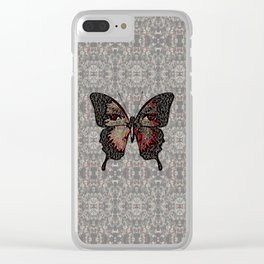 Butterfly Variation 05 Clear iPhone Case