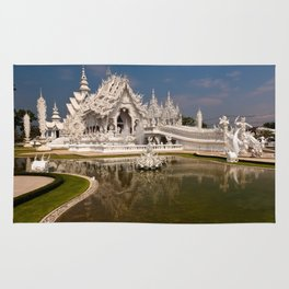 White Temple Rug