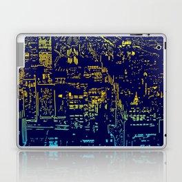 Chicago city lights at night Laptop & iPad Skin