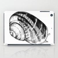 snail iPad Cases featuring Snail by MARIA BOZINA - PRINT