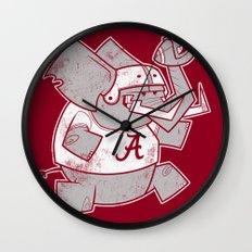 ROLL TIDE Wall Clock