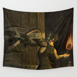 The Horror Beyond the Door Wall Tapestry