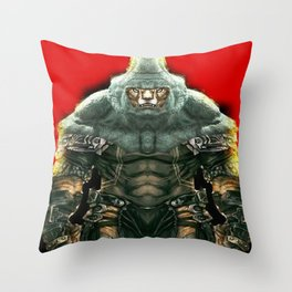 RhinoTiger Throw Pillow